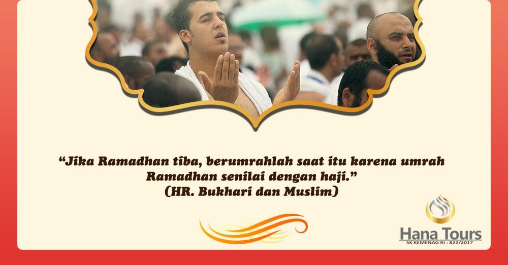 umroh ramadhan hana tour