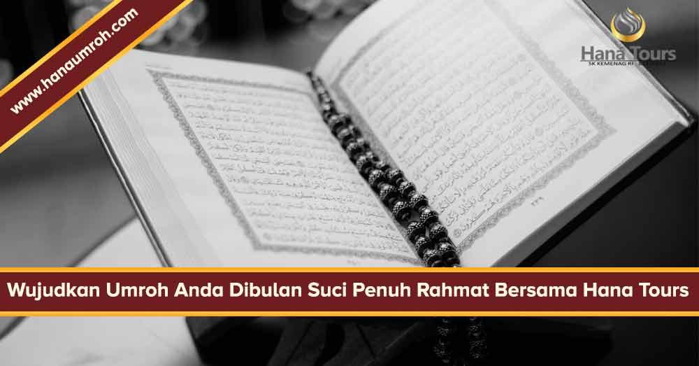 paket umroh ramadhan 2019 hana tour - banner