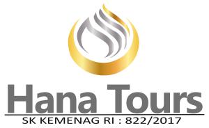 Umroh Murah Hana Tours - Logo White