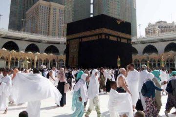 tawaf kabah - paket umroh april 2019 - hana tour