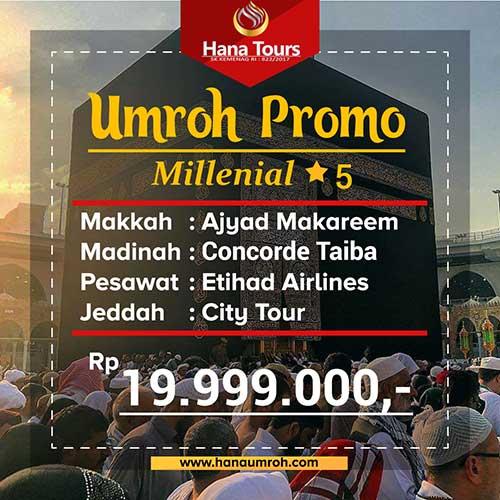 promo millenial bintang 5