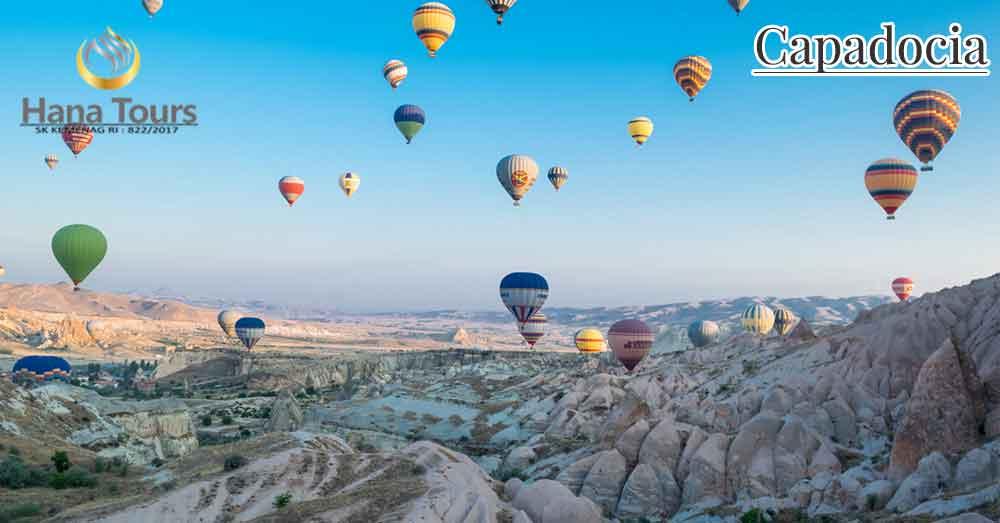 wisata capadocia tour turki hana travel