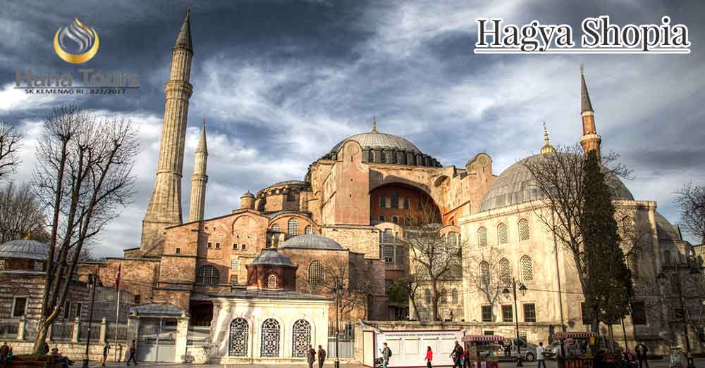 wisata hagya shopia di turki bersama hana travel