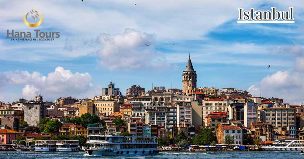 wisata halal istanbul bersama hana tour
