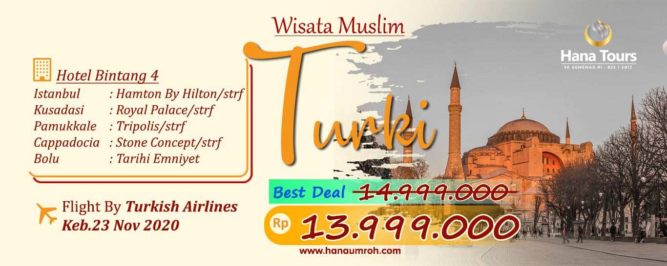 Wisata Halal Turki Bersama Hana Tour
